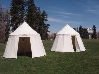Both 22 and 14 panel tents.