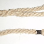 Hemp rope with eye-splice and whipping
