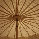Round Pavilion, Inside looking up.
